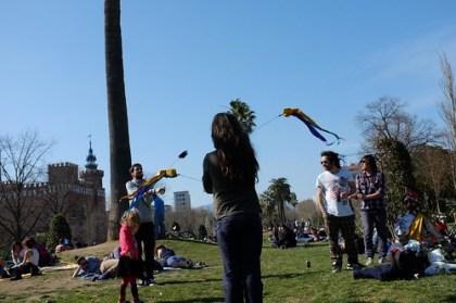 picnic at the park