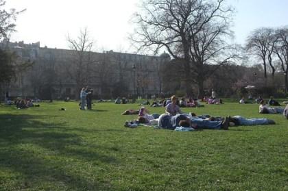 picnic at Champ de Mars