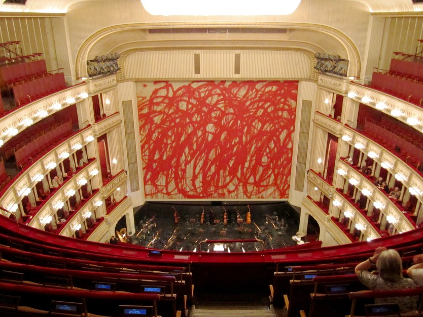 A snap of the Opera House interior
