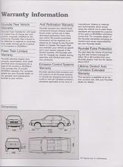 1985 Hyundai Pony Brochure 11
