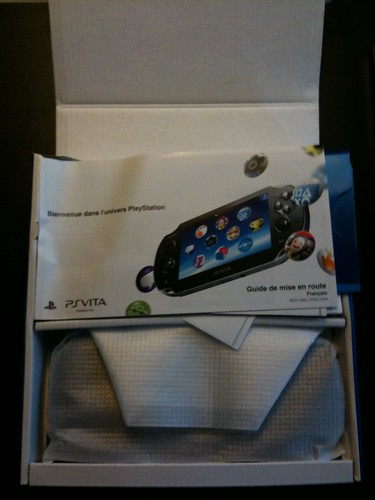 PS Vita - unbox 1