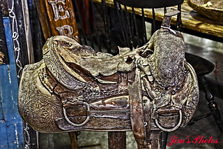 Old saddle