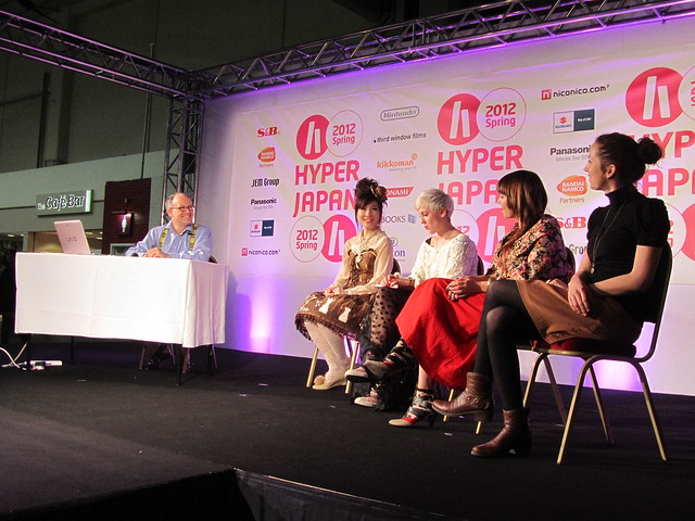 Lolita fashion panel