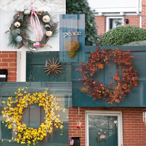 wreath collage