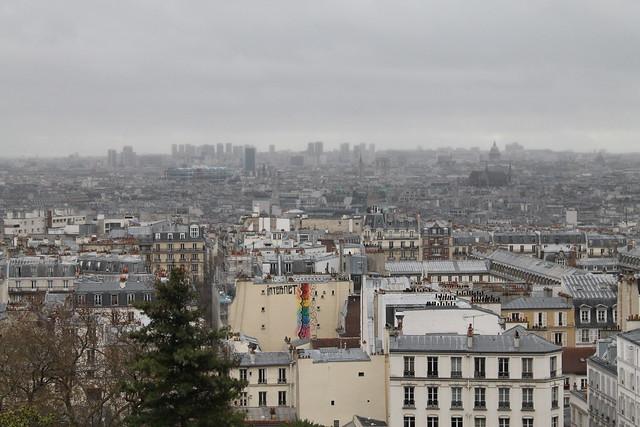 Paris dans la brume