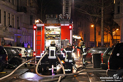 Wohnungsbrand Herderstraße 11.02.12