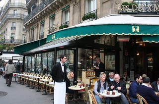 2 Cafes -- de Flore and Deux Magots