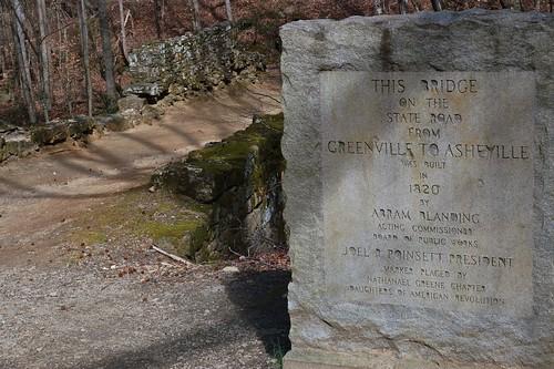 Poinsett Bridge, build in 1820