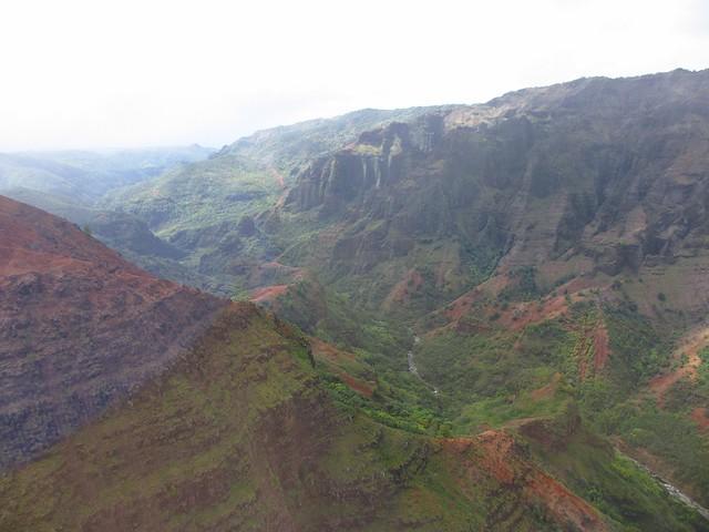 Waimea Canyon from heli 4