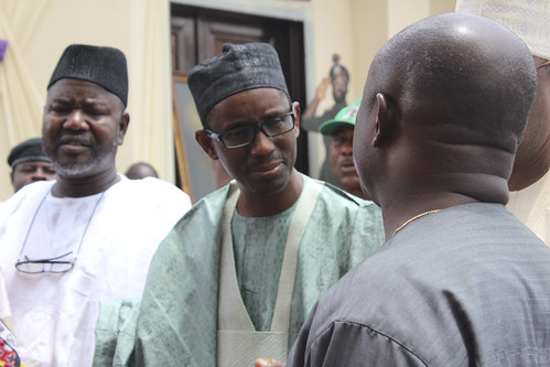 Nuhu Ribadu & Abubakar Umar Gada  @ Dim Ojukwu's Funeral Services by Jujufilms