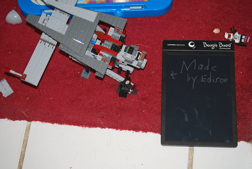 lego and boogie board