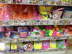 Easter goods at Meidiya Supermarket