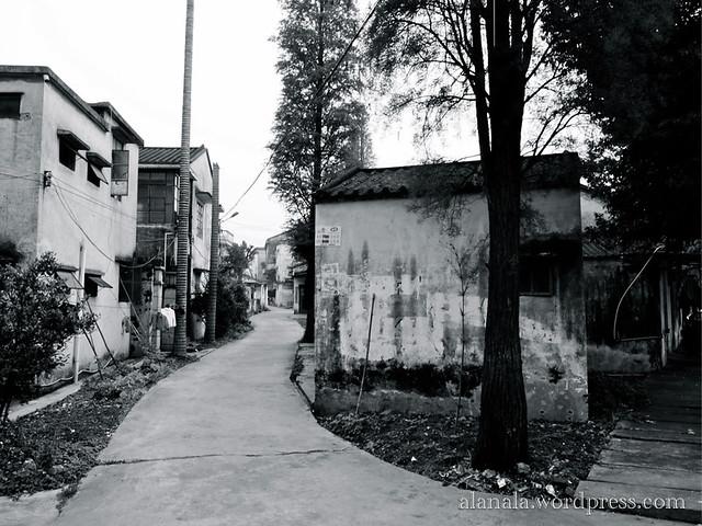 Village scenery near my grandma's home