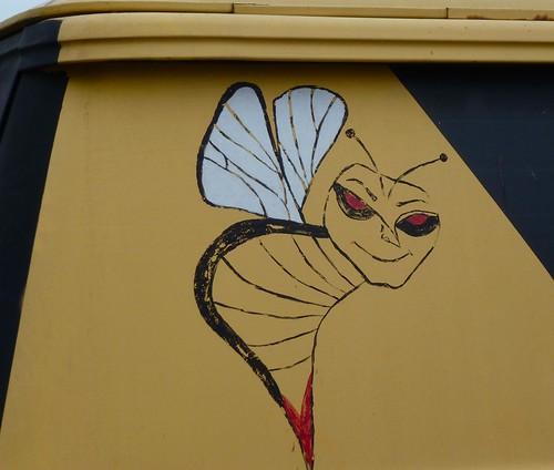 Detail - Bee Truck by dyannaanfang