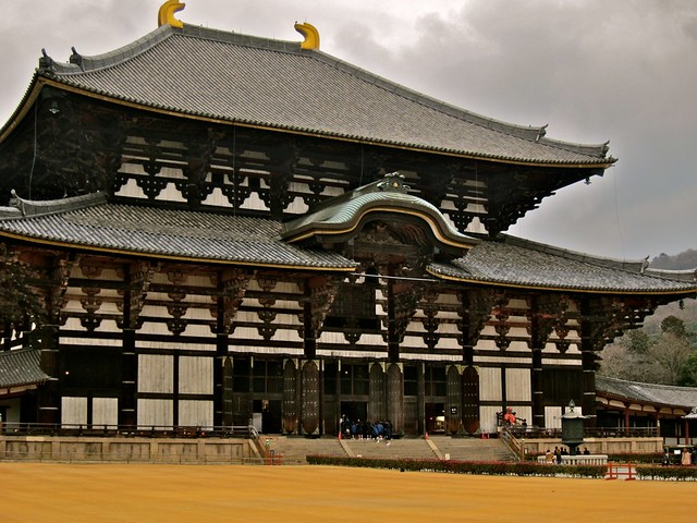 The Todai-ji Temple, a world heritage monument of Ancient Nara