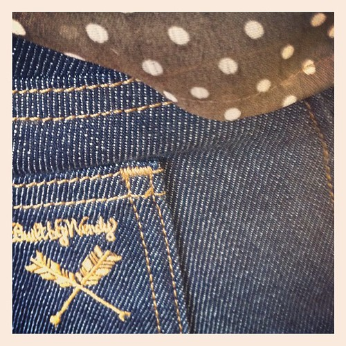 Today I am in love with my new Built by Wendy jeans
