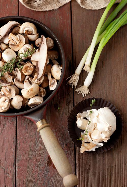 Beet Mushrooms Stew 3
