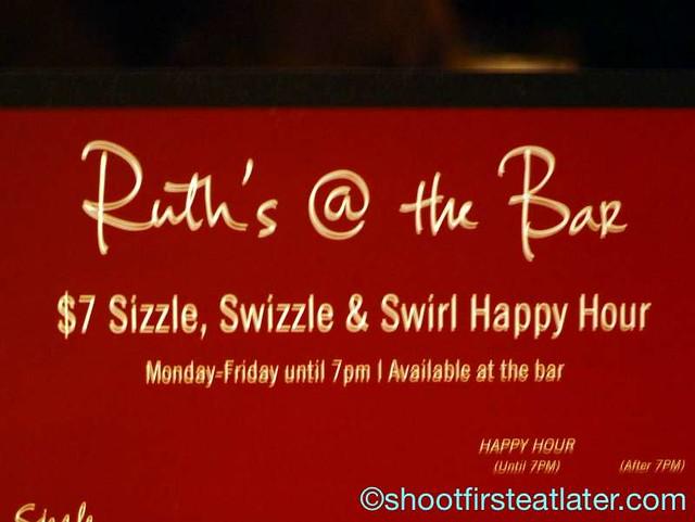 Ruth's Chris Sizzle, Swizzle & Swirl Happy Hour-004