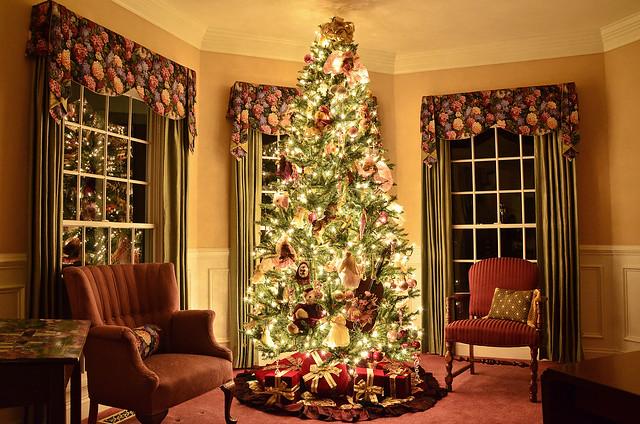 Christmas Tree Living Room