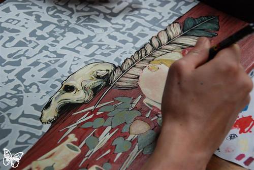 DMV Exquisite Corpse - Detail by Blo