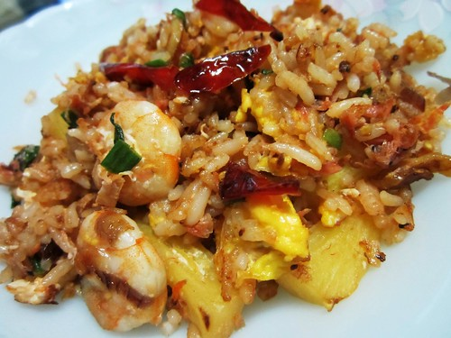 STP's cincaluk fried rice