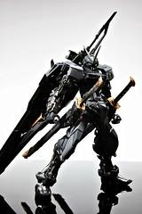 Stealth Version Gundam Astray Custom Painted Build (2)