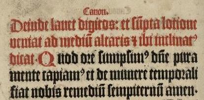 Frå Missale frå Nidaros