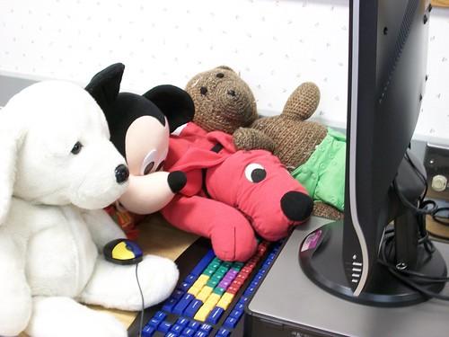 Stuffed Animal Sleepover Feb 2012 012