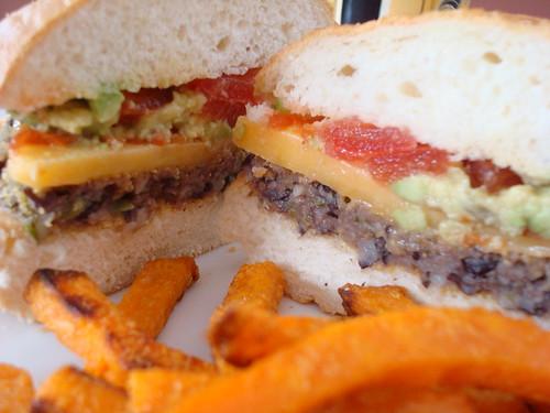 Black Bean Veggie Burger