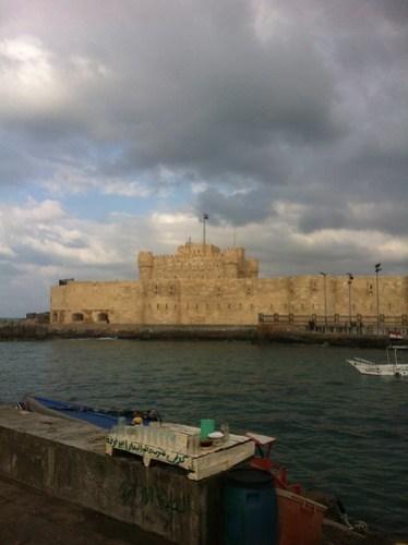 Citadel of Qaitbey in Alexandria, Egypt