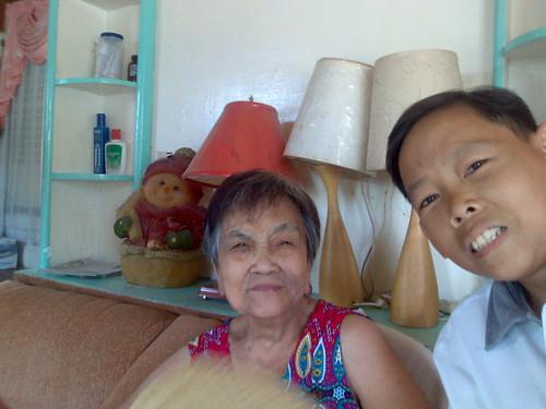 Ang Ganda ni Inang sa pula nyang daster by joy san gabriel