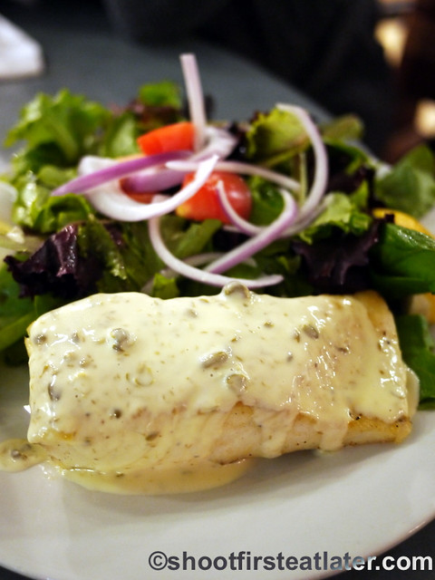 Seafood meals at Whole Foods Market - Atlantic Cod with lemon caper sauce