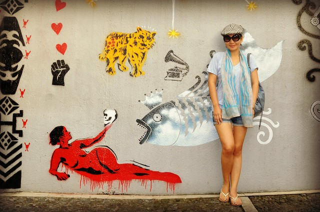 bencab museum graffiti