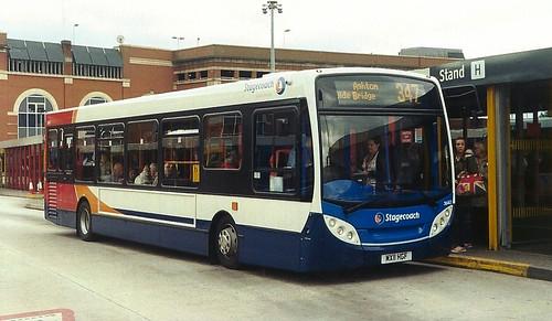 Enviro 200 MX11 HGF, Stagecoach Manchester, Ashton-under-Lyne bus station