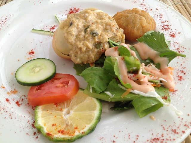 BB's Crabback signature dish