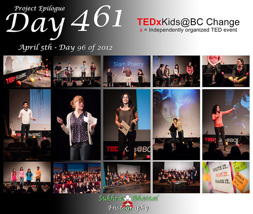 Day 461 - TEDxKids@BC Change