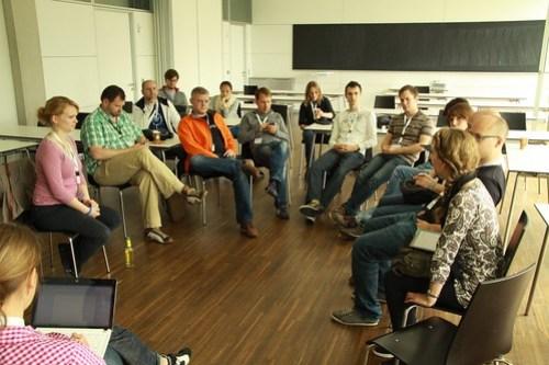 Bild von der Session zum Social Media Monitoring