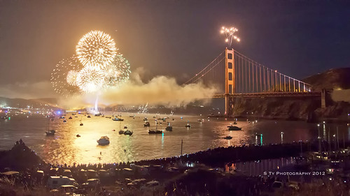 The Planning and Shooting of the GGB Fireworks