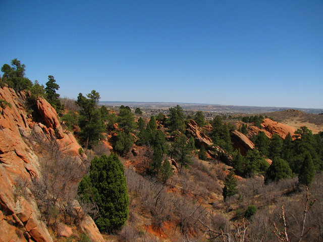 View from hiking trail