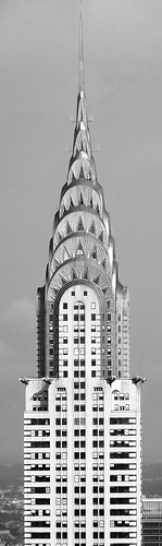 Chrysler Building Zentangle Part II