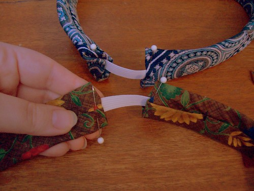 headbands pinned