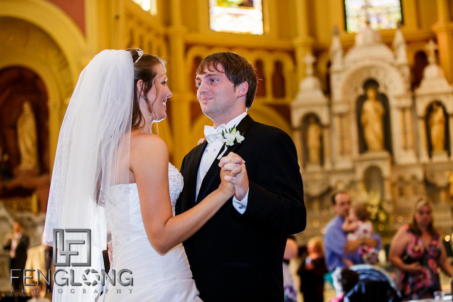 First Dance | Sarah & Alex's Wedding | Sacred Heart Cultural Center | Augusta Destination Wedding Photographer