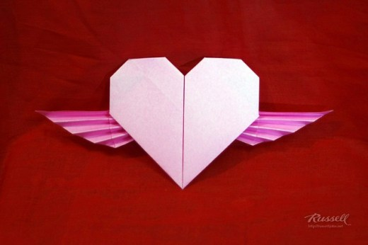 Origami Winged Heart