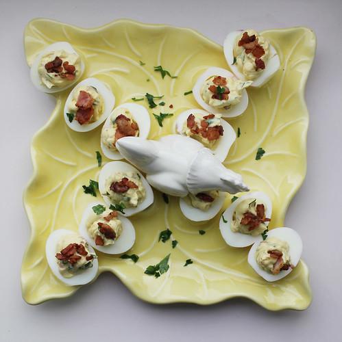 Deviled Eggs, HJ Style Helen Jane Hearn TueNight Egg