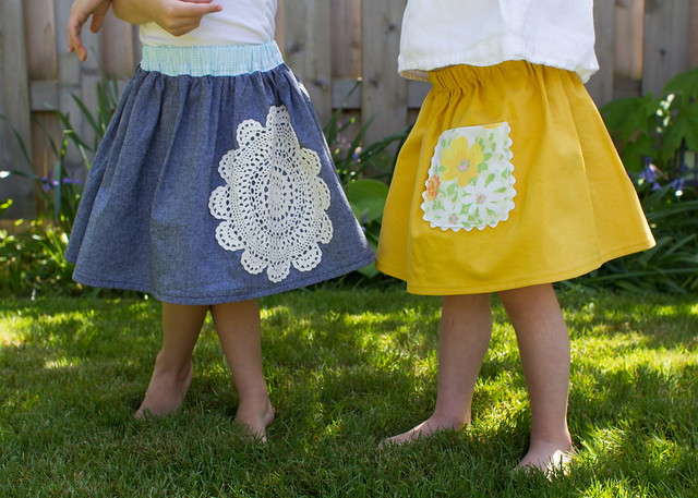 little skirts with vintage flair