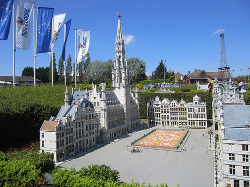 mini-europe model of grand-place