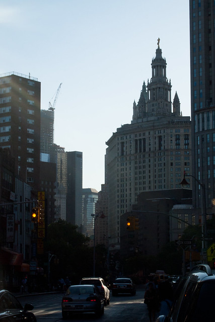 Manhattan Municipal Building from East Broadway. Photo by Ellen Brenna Dougherty