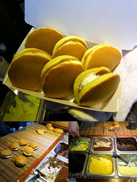 Raohe St. Night Market- mini stuffed pancakes