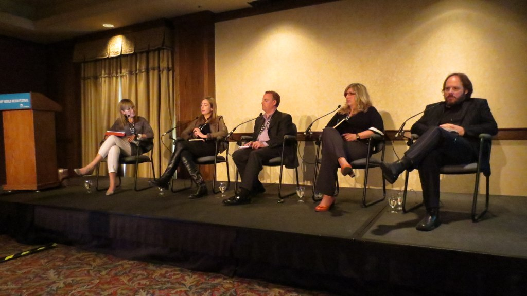 View From the Top: Non-Fiction- Banff World Media Festival 2012