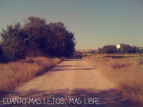 Cuanto mas lejos, mas libre